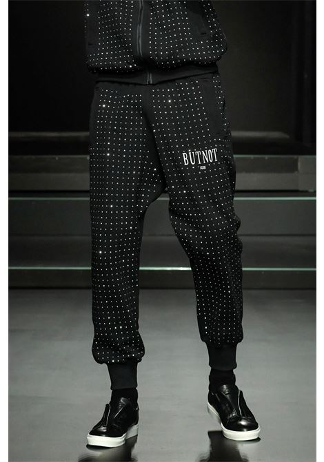 Butnot Black swarovski pants Butnot | Trousers | U9427UNICO