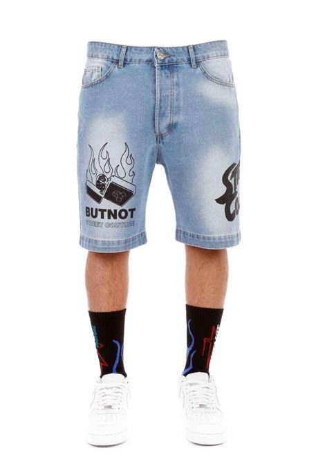 Butnot Denim Bermuda Shorts  BUTNOT | Shorts | U9459UNICO