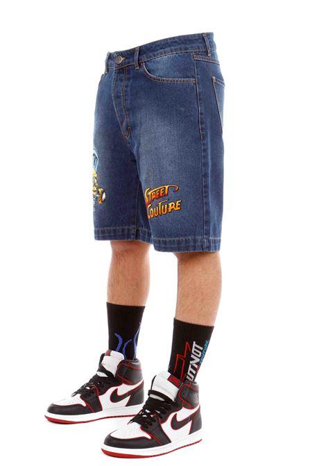 Butnot Denim Bermuda Shorts  BUTNOT | Shorts | U9460UNICO