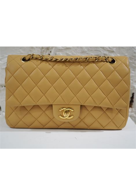 Chanel 2.55 beige leather shoulder bag CHANEL | Bag | 2.55BEIGE
