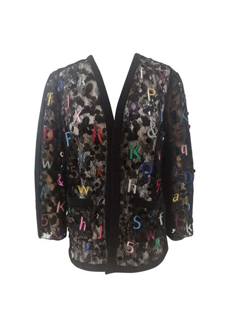 Chanel Alphabet see through cotton silk jacket Chanel | Jackets | ALFABETONERO