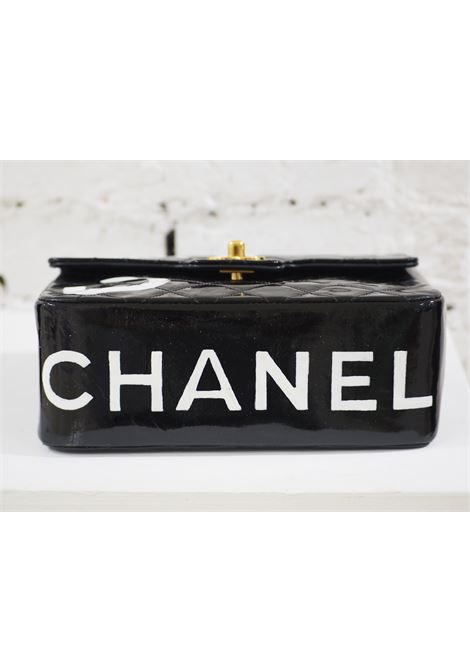 Chanel black patent leather handbag CHANEL | Bag | AT02013XS50DIPINTA