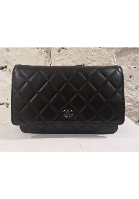 Chanel Classic wallet on chain black leather shoulder bag CHANEL |  | AT02013ZASS50NERO