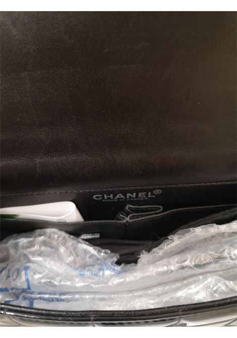 Chanel chocolate black patent leather bag CHANEL | Bag | AT020SS115WX0CHOCOLATE BAR
