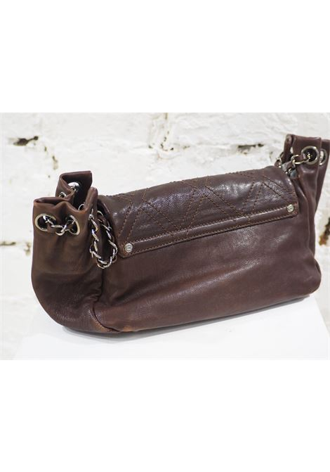 Chanel brown leather shoulder bag Chanel | Borsa | AT020XS125CA0MARRONE