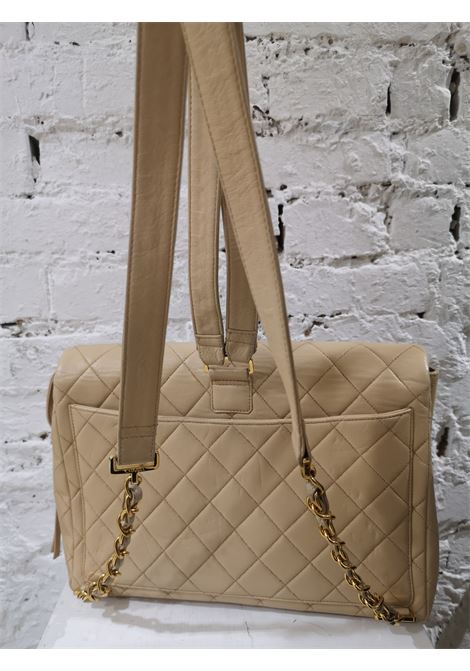 Chanel beige leather backpack CHANEL   Backpack   AT020XS26CSGB50BEIGE