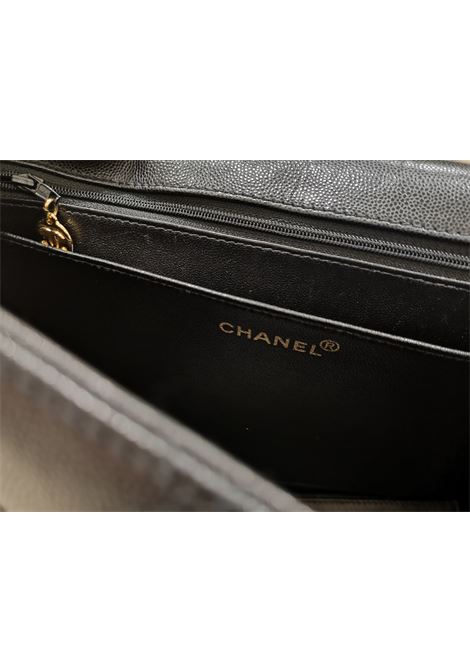 Chanel Jumbo black caviar leather shoulder bag CHANEL | Bag | AT020XSS28VCA00CAVIAR
