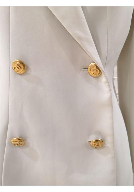 Chanel | Jackets | DOPPIO PETTO GIALLO-BIANCA