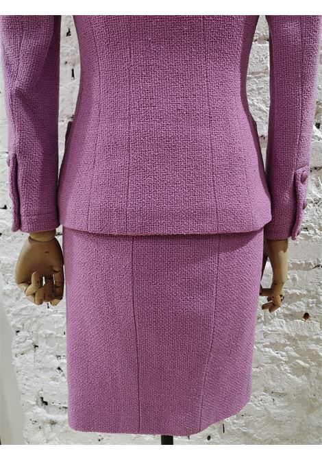 Chanel wisteria Wool Skirt Suit Chanel | Suits | GLICINECOMPLETO