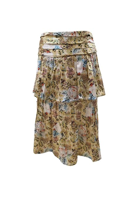 Chanel silk Skirt Chanel | Gonna | GONNA SETASETA