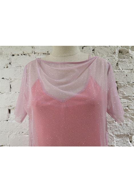 Chelidonia pink glitter dress Chelidonia | Dresses | DENISE LUCIAFRAGOLA