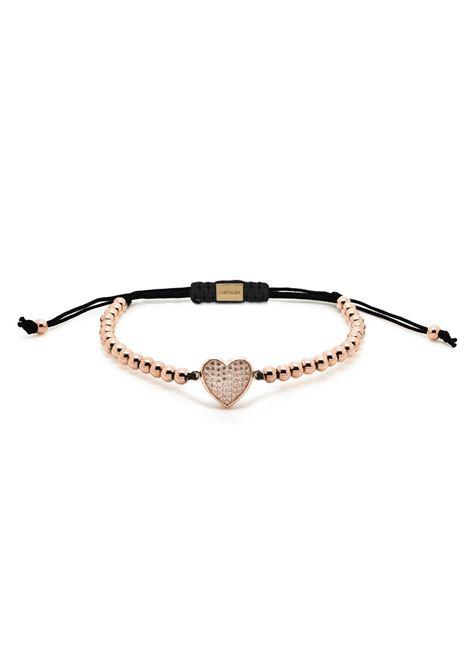 Chevalier Project Rose Gold Heart bracelet Chevalier Project | Bracciale | C115ROSE GOLD