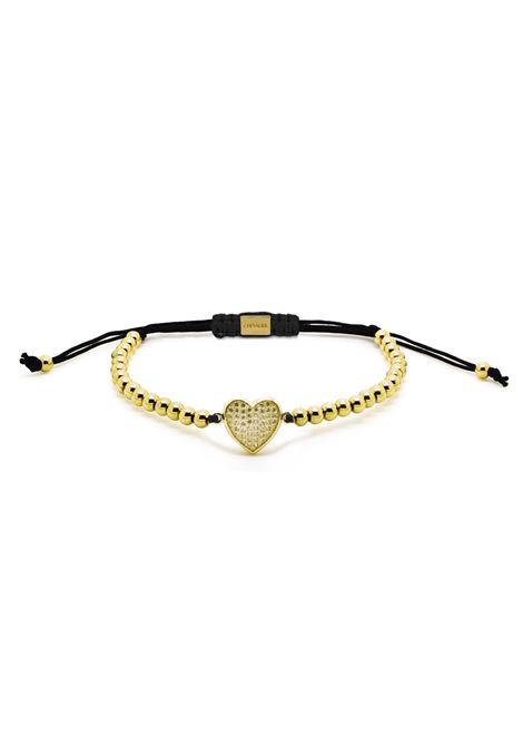Chevalier Project Gold Heart bracelet Chevalier Project | Bracciale | C117GOLD