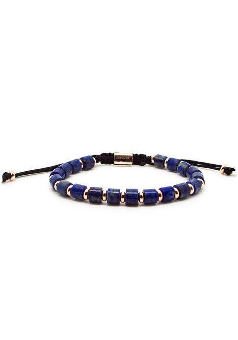 Chevalier Project Blue gold stones bracelet Chevalier Project | Bracelets | S102BLUE