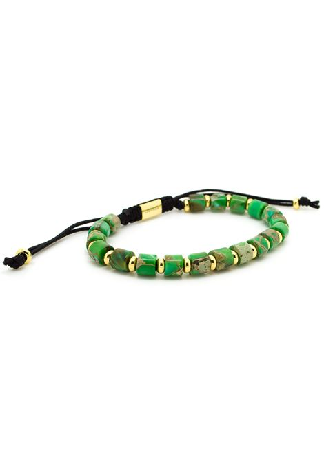 Chevalier Project Green gold stones bracelet Chevalier Project | Bracelets | S105GREEN