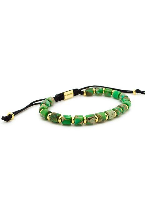 Chevalier Project Green gold stones bracelet Chevalier Project | Bracciale | S105GREEN