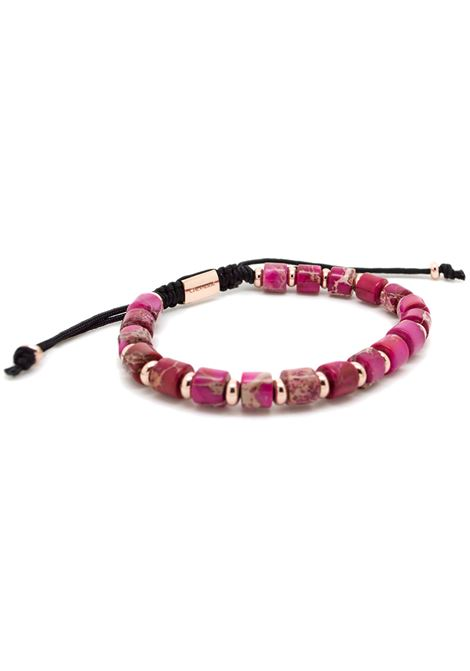 Chevalier Project Violet gold stones bracelet Chevalier Project | Bracciale | S106VIOLET