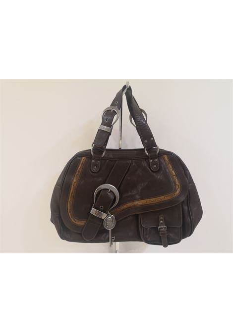 Christian Dior brown Gaucho shoulder bag Christian Dior | Bags | AT020ZAAA65ECCS0MARRONE