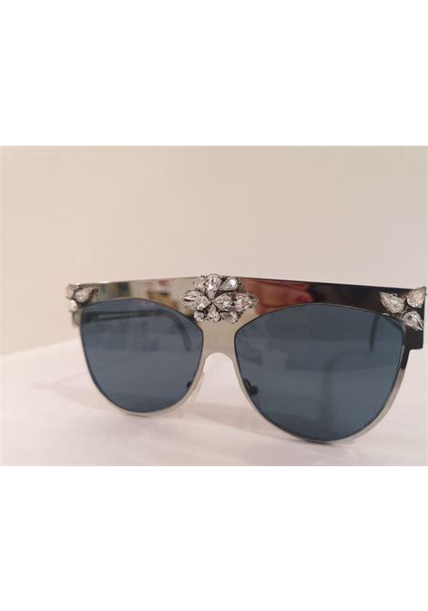 D Style silver mirrored swarovski sunglasses D style | Occhiali | ARG PIETRESWAROVSKI