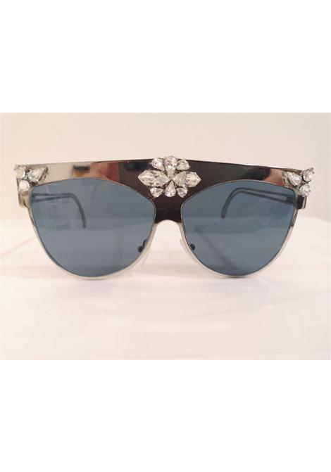 D Style silver mirrored swarovski sunglasses D style   Sunglasses    ARG PIETRESWAROVSKI