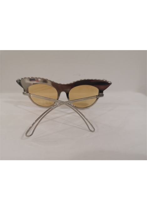 D Style silver plate with swarovski sunglasses D style | Sunglasses  | SWAROVSKIBIANCO NERO