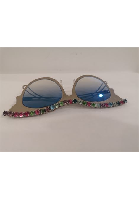 D Style silver plate with swarovski sunglasses D style | Sunglasses  | SWAROVSKIMULTI