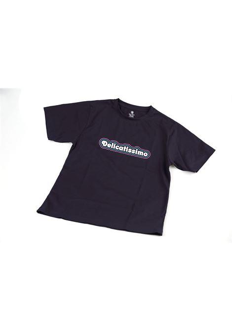 Delicatissimo blue cotton t-shirt Delicatissimo | T-Shirts | MAGLIADELICATISSIMO