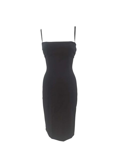 Dolce & Gabbana black wool dress Dolce&Gabbana | Abito | AT020XS18RGVS200TUBINO