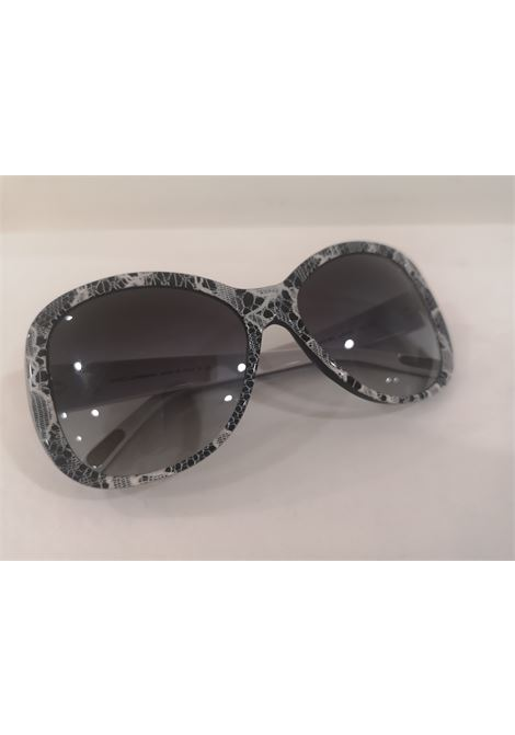 Dolce & Gabbana black white lace sunglasses Dolce&Gabbana | Sunglasses  | NM0201000DCSPIZZO