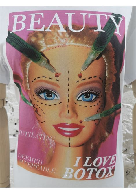 Gli Psicopatici white cotton Barbie botox t-shirt Gli Psicopatici | T-Shirts | TSHIRTBARBIE