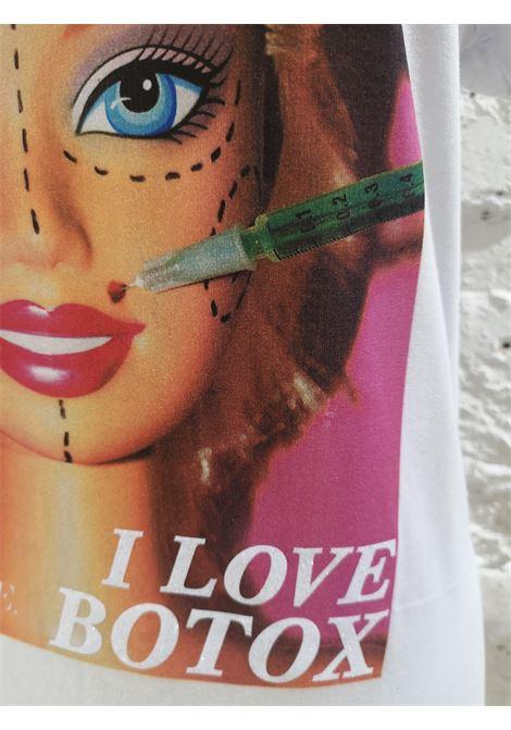 Gli Psicopatici white cotton Barbie botox t-shirt Gli Psicopatici | Maglia | TSHIRTBARBIE