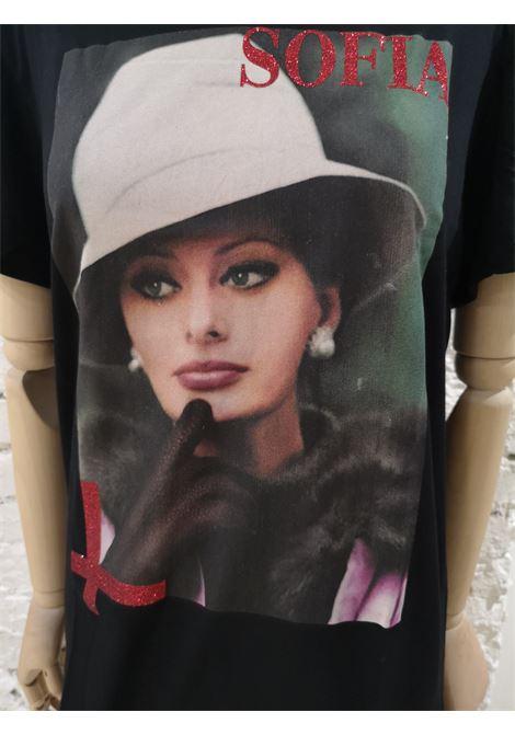 Gli Psicopatici Sofia Loren cotton shirt Gli Psicopatici | T-Shirts | TSHIRTSOFIA CAPPELLO