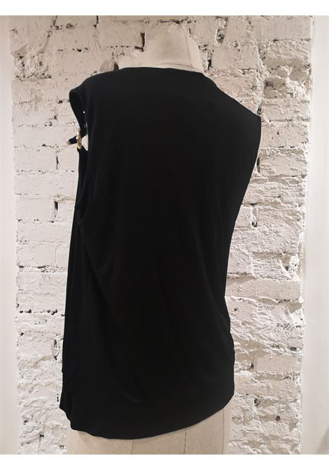Gucci Black bamboo viscose top Gucci | Tops | TOPNERO
