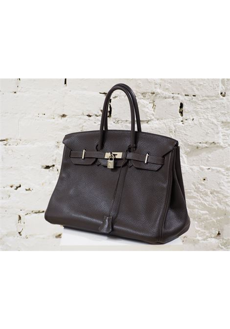 Hermes birkin 35 dark chocolate HERMES | Bag | AT02066XS00BIRKIN