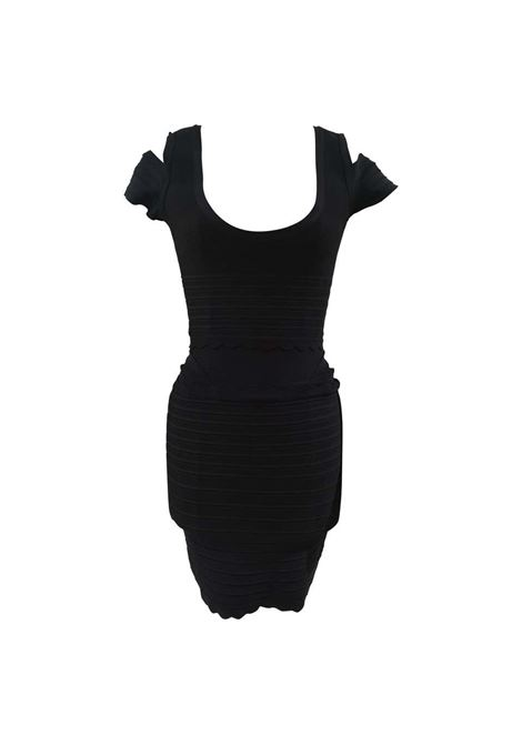 Herve Leger Black Dress RTW Herve Leger | Dresses | DUC020180SCDNERO