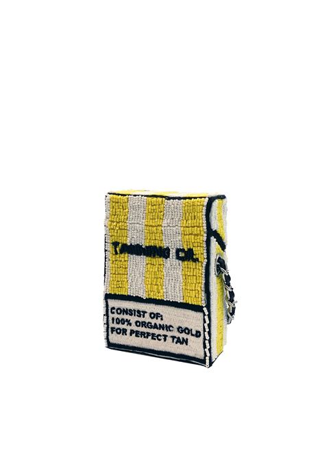 Mini hand-beaded cross body bag House of Muamua | Borsa | CIGARETTE SMALLCOCONUTS