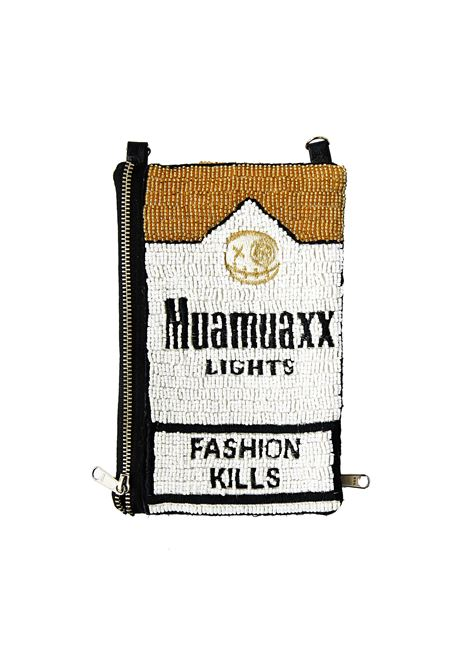 Muamuaxx Lights hand beaded iphone wallet House of Muamua | Borsa | IPHONECASELIGHT