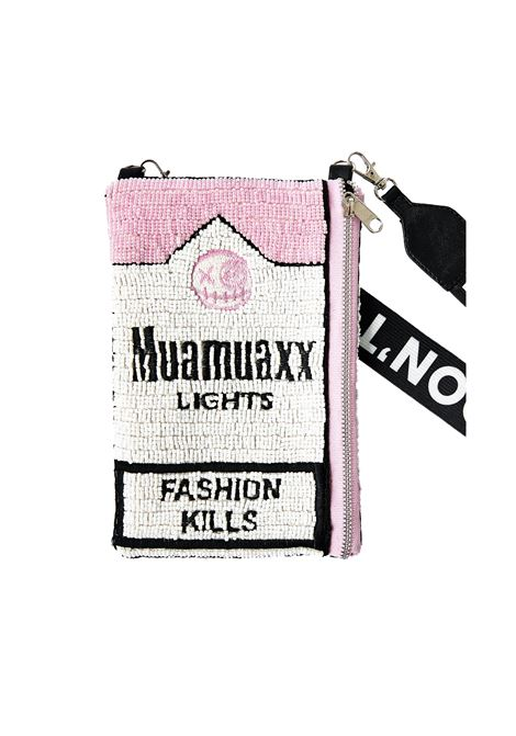 Muamuaxx Lights hand beaded iphone wallet House of Muamua | Bag | IPHONECASEMUAMUALIGHT