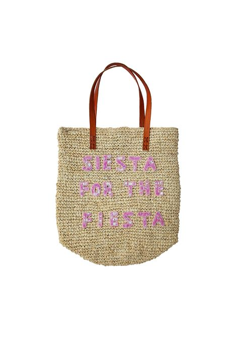 House of Muamua | Bag | RAFFIA MARKET BAGSIESTA