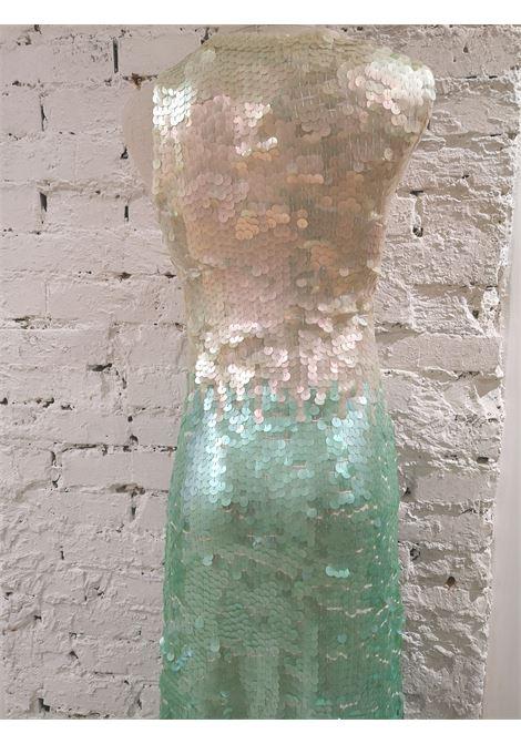 Hand-beaded sequin long dress House of Muamua | Abito | WEDONOTHAVEPLANETB