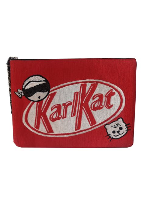 House of muamua Karlkat zip pochette House of Muamua | Borsa | ZIP POCHETTEKITKAT