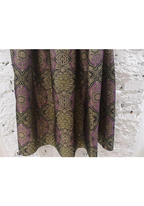 Il Quadrifoglio gold purple vintage skirt Il Quadrifoglio | Gonna | AT020XS25RV0DBROCCAT