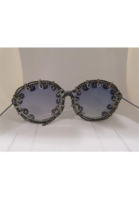 Kommafa blue lens silver sunglasses Kommafa | Sunglasses  | AFRICAARG