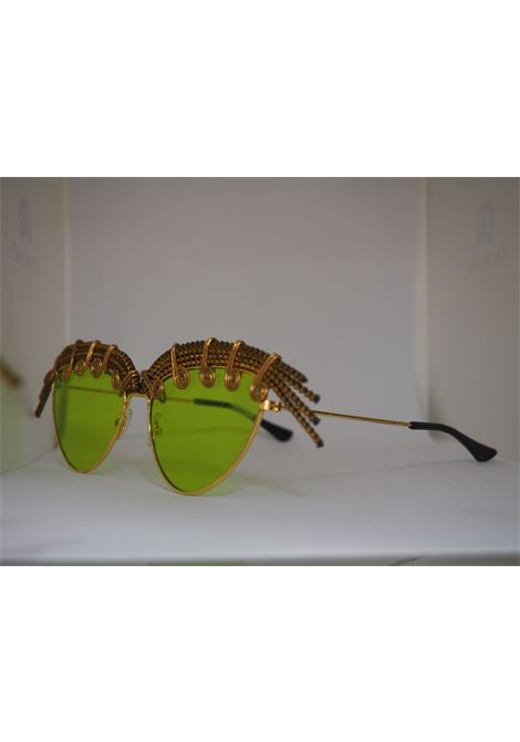 Handmade Kommafa green sunglasses kommafa   Sunglasses    AFRICAVERDE