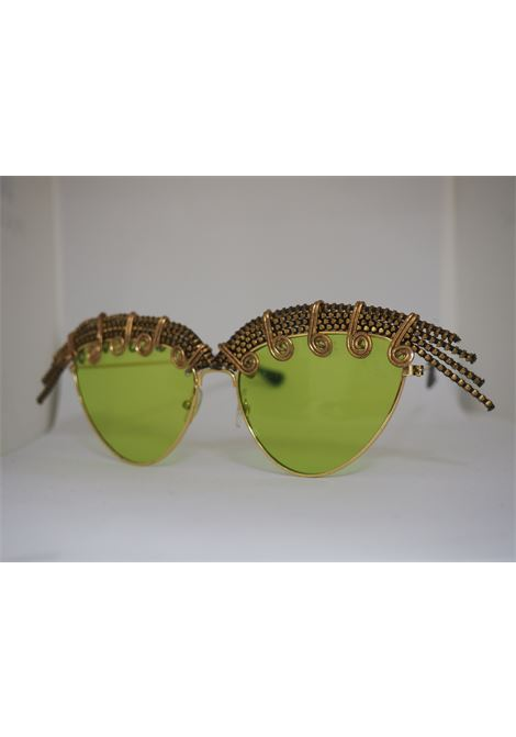 Handmade Kommafa green sunglasses Kommafa | Occhiali | AFRICAVERDE