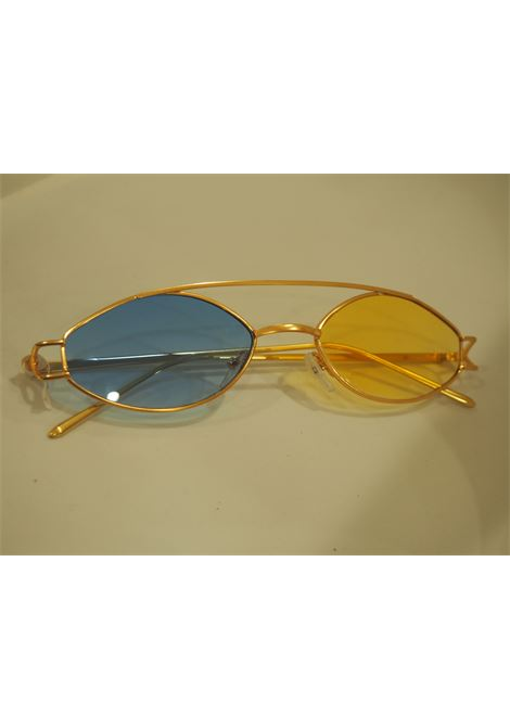 Kommafa Unique bicolour sunglasses Kommafa | Occhiali | BICOLOR GOLDGIALLO BLU