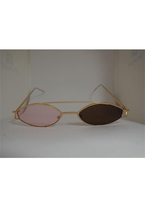 Kommafa Unique bicolour sunglasses kommafa | Sunglasses  | BICOLOR GOLDMARRONE ROSA