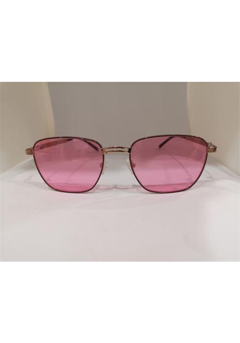 Kommafa pink lens sunglasses Kommafa | Occhiali | NORMALIROSA SQUARE
