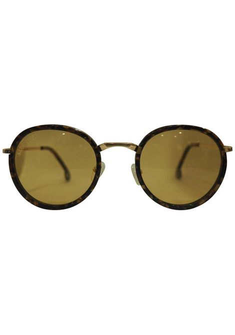 Kommafa orange tortoise sunglasses Kommafa | Occhiali | TORTOISEARANCIO TONDO