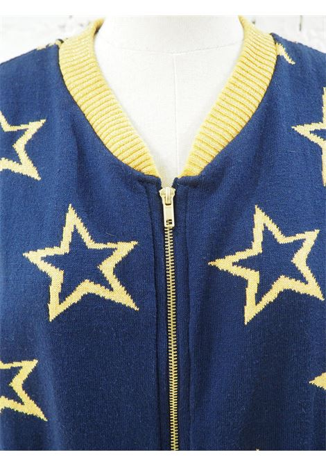 Kueen blue yellow sweater Kueen | Cardigan Sweaters | CARDIGAN-